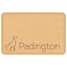 Personalized Dog Comfort Mat