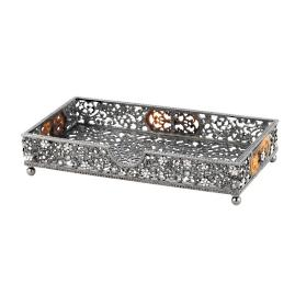 Queen Anne's Lace Guest Towel Tray