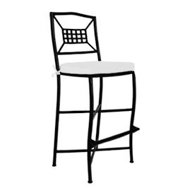 Catalina Aluminum High Dining Chair