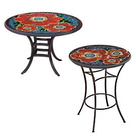 KNF Zinnia Round Bistro Table