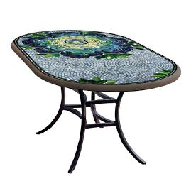 KNF Giovella Oval Bistro Table