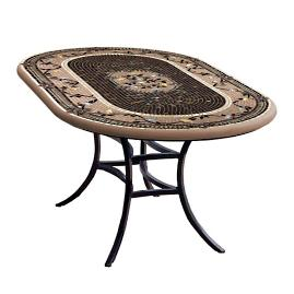 Provence Oval Bistro Table