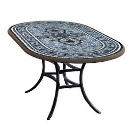 KNF Roma Oval Bistro Table