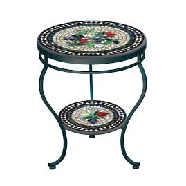 Maritz Double-Tiered Side Table