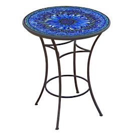 KNF Bella Bloom Round High Dining Table