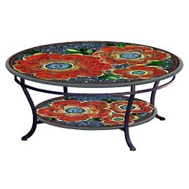 KNF Zinnia Double-Tiered Coffee Table