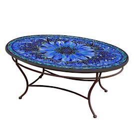 KNF Bella Bloom Oval Coffee Table