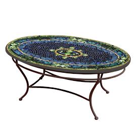 KNF Lake Como Oval Coffee Table