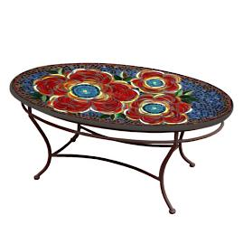 KNF Zinnia Oval Coffee Table