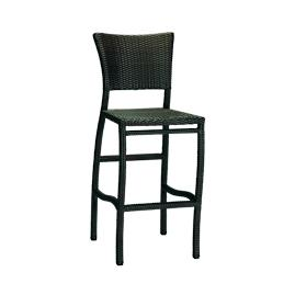 Skye Bar Stool with Cushion by Summer Classics