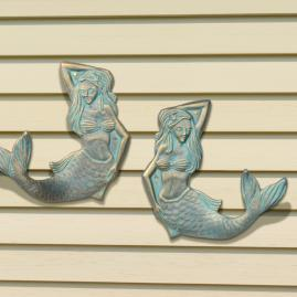 Mermaid Towel Hooks