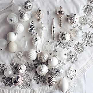 60-pc. Let It Snow Ornament Collection