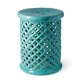 Piazza Ceramic Garden Stool  sc 1 st  Frontgate & Chinoiserie Garden Stool | Frontgate islam-shia.org