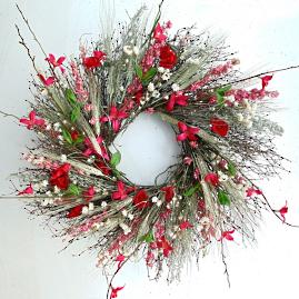 Quince Bramble Wreath