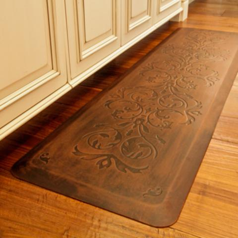 Classic Scroll Anti Fatigue Kitchen Comfort Mat