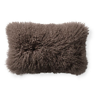 Tibetan Sheepskin Lumbar Pillow