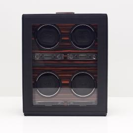 Roadster 4-pc. Watch Winder with Storage