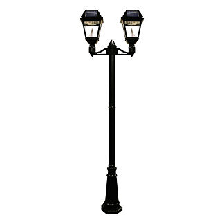 Regency Solar Post Two Lamp with Pole