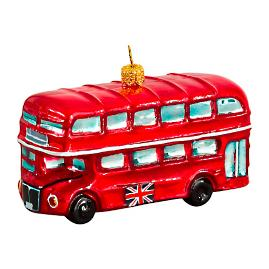 British Double Decker Bus Ornament