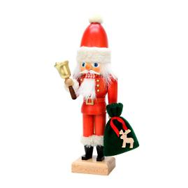 Christian Ulbricht Santa with Bell Nutcracker