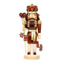 Christian Ulbricht Gingerbread King Nutcracker