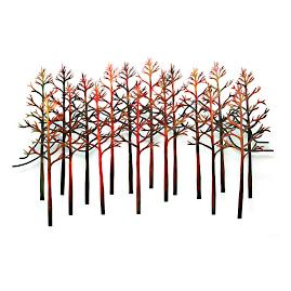 Auburn Sunset Outdoor Wall Sculpture