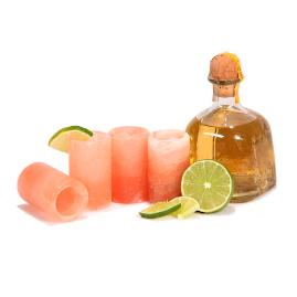 Himalayan Salt Tequila Shot Glasses, Set of Four