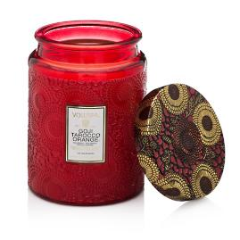 Voluspa Goji and Tarocco Glass Candle