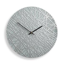 Banded Contemporary Clock