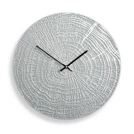 End Grain Contemporary Clock by Porta Forma