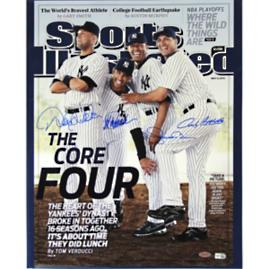NY Yankees Core Four Sports Illustrator Cover