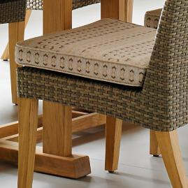 Pepper Marsh Dining Side Chair Cushion by Gloster