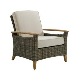 Pepper Marsh Lounge Chair with Cushions by Gloster