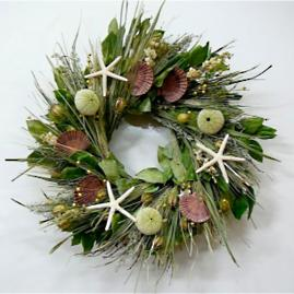 King of the Sea Dried Wreath