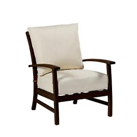 Charleston Lounge Chair with Cushions by Summer Classics