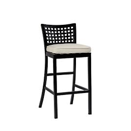 Oxford Barstool with Cushion by Summer Classics