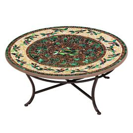 KNF Finch Round Single-Tiered Coffee Table