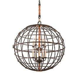 Latitude 10-Light Pendant
