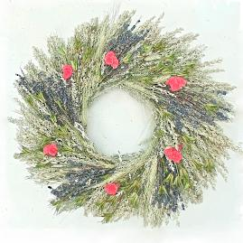 Renaissance Dried Wreath
