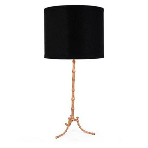 Cane table lamp by bliss studio