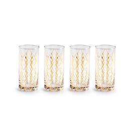 La Cite Highball Glasses, Set of Four