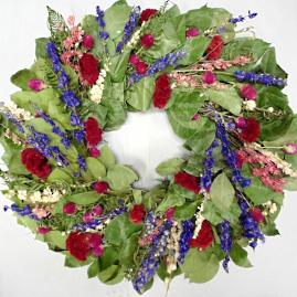 Camelot Garden Dried Wreath