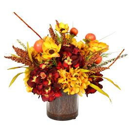 Fall Harvest Floral Centerpiece