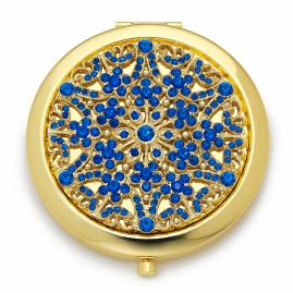 Crystal Birthstone Compact