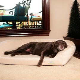 Divinity Orthopedic Bolster Pet Bed