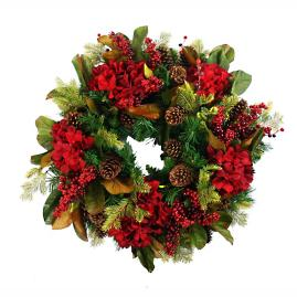 Evergreen Holiday Wreath
