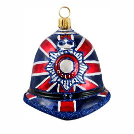 British Bobby Hat Ornament