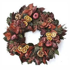 Grande Diplome Dried Wreath