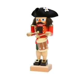 Christian Ulbricht Nutcracker Drummer with Tricorn Hat