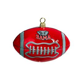Collegiate Football Ornament